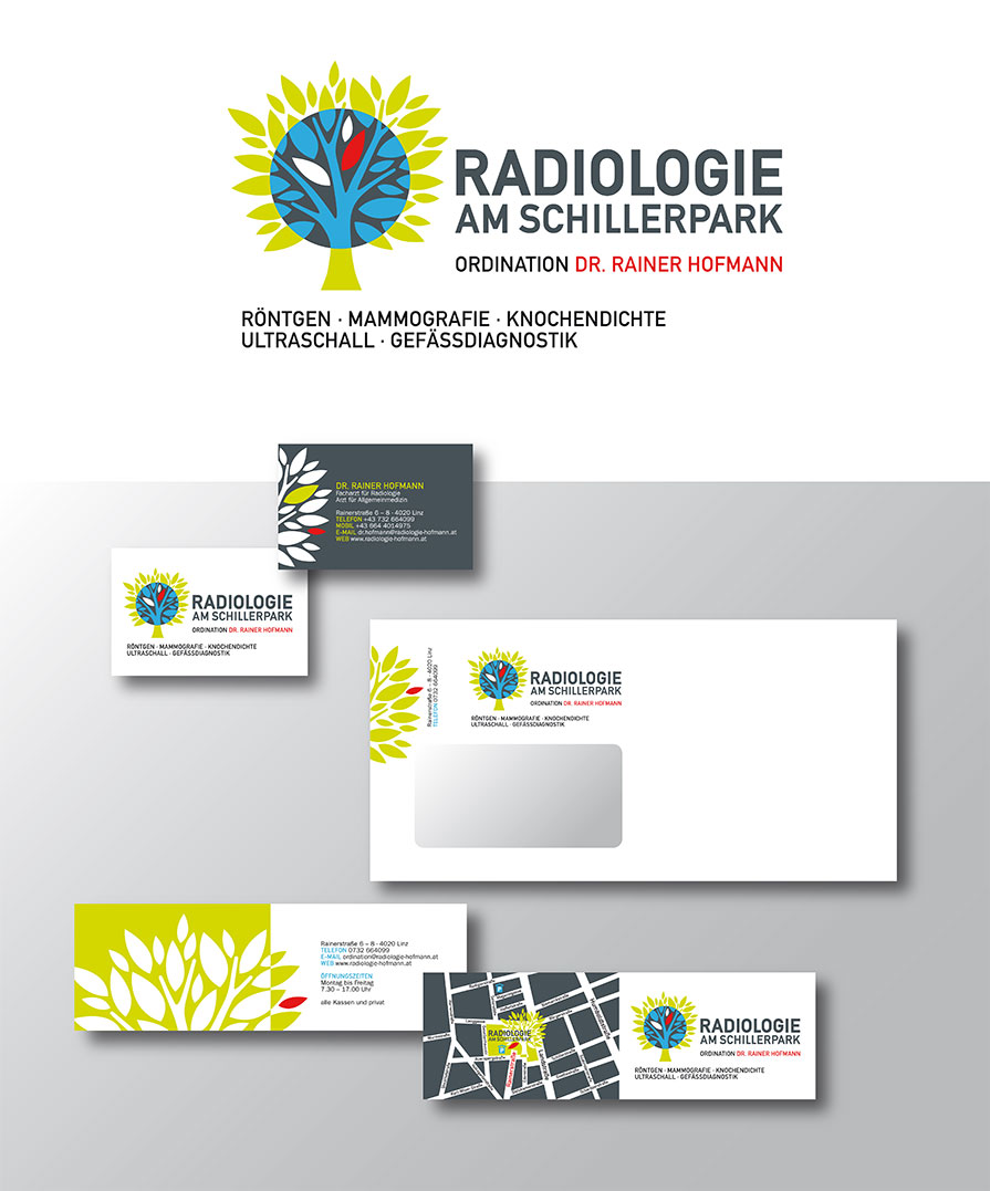 "Corporate Design ""Radiologie Dr. Rainer Hofmann"""