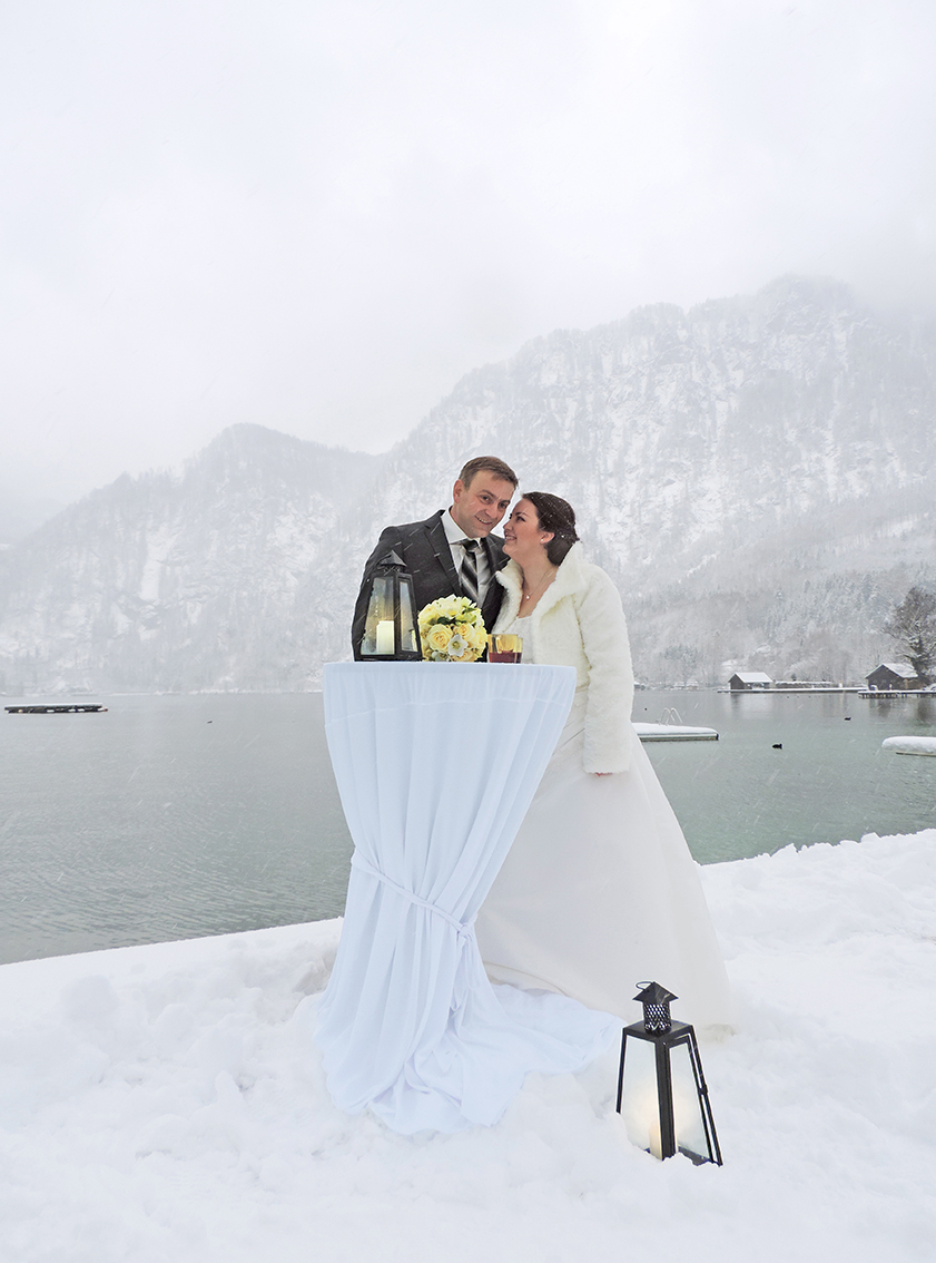 Wintertag am Attersee